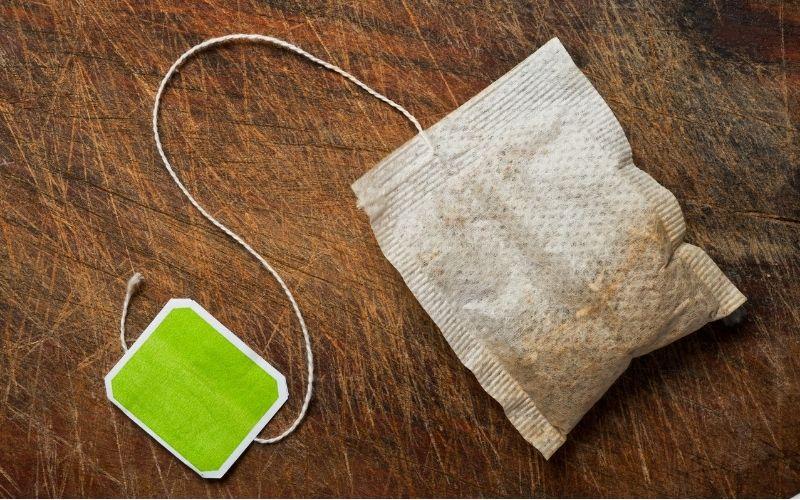 a used tea bag