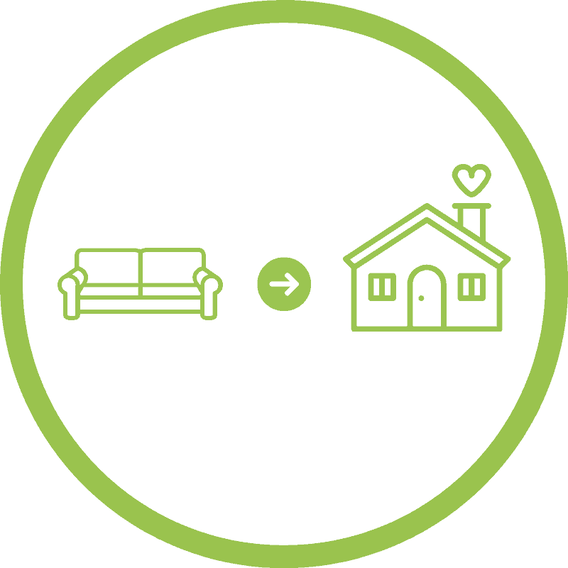 couch to homestead logo icon